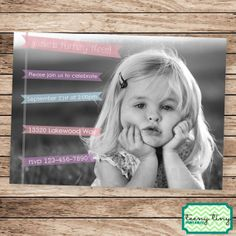 Hey, I found this really awesome Etsy listing at http://www.etsy.com/listing/160559279/birthday-party-invitation-for-girl-large