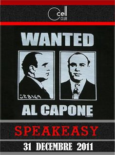 Artwork for a 20's party... maybe do a wall of the FBI's most wanted. It should be easy to find photos of them online.