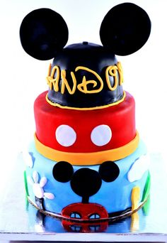 Mickey Mouse Clubhouse Cake Video