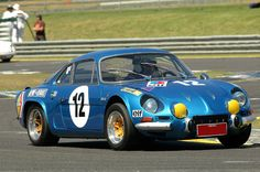 Alpine A110 at Sandown