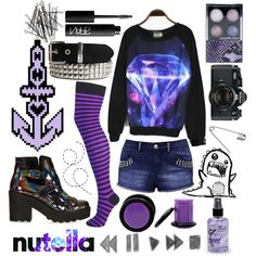 """""""Never thought I'd let a rumor ruin my moonlight."""" by crazynarwhall on Polyvore"""