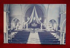 Inside the Immaculate Conception Church 1909 (Steve Starking)