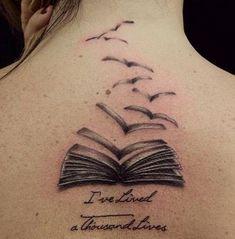 Tattoo Idea For Bookworms
