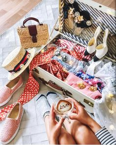 My packing would not be complete without Mini VIPHA wicker bag Water Hyacinth, Flatlay Styling, But First Coffee, Wicker, Louis Vuitton, Packing, Handbags, Holidays, Tote Bag