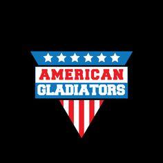 TEXLAB - American Gladiators - Herren T-Shirt, 80er, 90er Trash ...