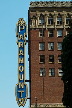 Paramount, Seattle   It was a movie theater and is now used for concerts and plays. It is a beautiful old building.