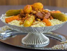 Couscous med lamm eller kyckling