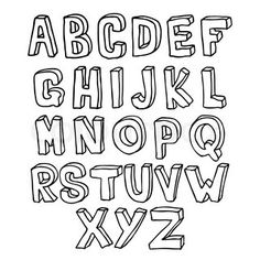 hand drawn 3d alphabet 3d alphabet hand lettering alphabet handwritten letters hand drawn