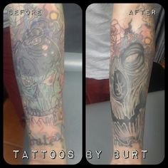 Cover up wip