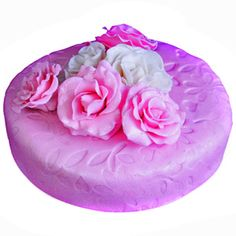 Choose the timeless symbol of love to deliver your heartfelt message. http://www.tajonline.com/valentines-day-gifts/product/v3457/valentine-pink-rose-cake/?aff=pint2015/