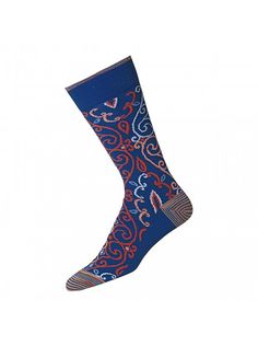Men's feet are for covering up. They are ultilitarian and nothing more. They are not pretty no matter what you try to do to them. These socks could do a pretty darn good job though...