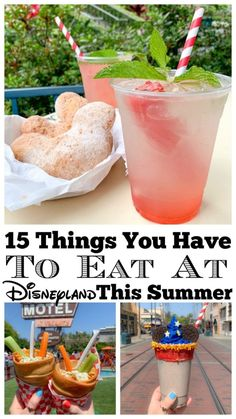 disneyland food Sharing some of the Best Disney Restaurants today and 15 Things You Have To Eat at Disneyland This Summer! So many great things, let's get to it! Mint Julep Bar, New Or Best Disneyland Food, Best Disney Restaurants, Disneyland Secrets, Disneyland Vacation, Disneyland California, Disney Vacations, Disneyland Paris, Disneyland Dining, Disney Travel