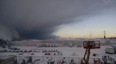 Lake effect system moving into buffalo on 11/18/2014.