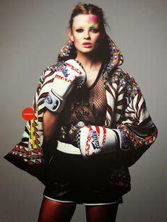 """Let Me Call You Later, Sport"" Natalie Siodmiak by David Bellmere for Vogue Turkey April 2014"