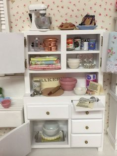 Hey, I found this really awesome Etsy listing at https://www.etsy.com/listing/224999825/miniature-kitchen-baking-hutch-112-scale