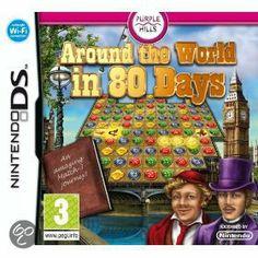 Around The World In 80 Days  Je hebt 80 dagen om de wereld rond te reizen. Denk je dat makkelijk te redden? Bezoek vier continenten en verzamel de souvenirs van jouw prachtige reis tijdens deze bijzondere puzzelgame.
