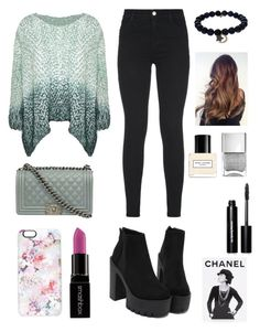 """Sin título #47"" by agusmachado16 on Polyvore featuring moda, J Brand, Chanel, Casetify, Smashbox, Sydney Evan, Marc Jacobs, Bobbi Brown Cosmetics, Assouline Publishing y women's clothing"
