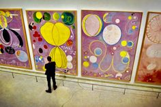 Why Hilma af Klint's Occult Spirituality Makes Her the Perfect Artist for Our Technologically Disrupted Time Alberto Giacometti, Alexander Calder, Alexander Mcqueen, Contemporary Artists, Modern Art, Hilma Af Klint, New York Museums, Art Therapy Activities, Occult