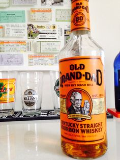 Old Gran-Dad 80 proof Kentucky Straight Bourbon Whiskey