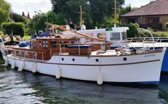 Ocean Cleanup, Boat Hire, Classic Wooden Boats, Norfolk Broads, Deck Boat, Classic Yachts, Wooden Boat Plans, Classic Motors, Speed Boats