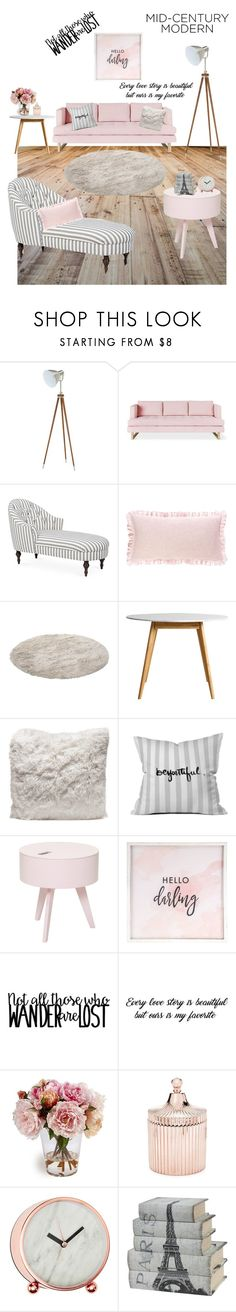 """""""Untitled #145"""" by m15c ❤ liked on Polyvore featuring interior, interiors, interior design, home, home decor, interior decorating, Gus* Modern, Kim Salmela, Pine Cone Hill and DENY Designs"""
