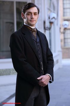 BBC Period Drama - The Paradise - #theparadise -- I love this character. Can't recall his name right now though...
