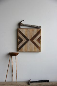 Reclaimed & recycled wood art and furniture by Ariele Alasko