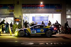 |May 2015| Stunning images from the Nürburgring 24 hours this weekend which saw Aston Martin tackle the Green Hell