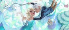 Jack & Elsa with others...