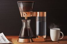 Kahve makineniz ne kadar akıllı? Sizi tasarım harikası Poppy Pour-Over ile tanıştıralım