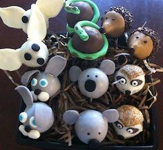 exotic animal cake pops