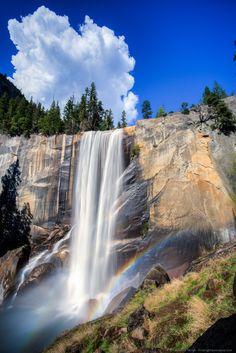 Vernal Falls - Yosemite National Park, California, USA