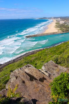 Don't miss this view of Palm Beach on the Gold Coast in Queensland, Australia
