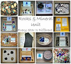 Rocks & Minerals Unit with Free Language, Math, and Cultural Printables from Every Star Is Different
