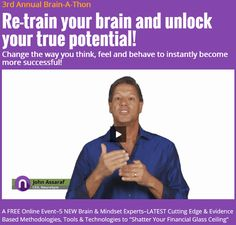 John Assaraf Webinar - Winning The Game Of Money And Abundance - http://johnassarafreviews.com/john-assaraf-webinar/john-assaraf-brain-a-thon/