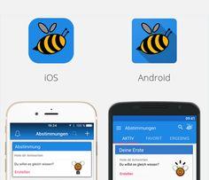 Apvango passt in iOS und Android