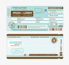 Modern simple plane ticket boarding pass, Flight, Aviation, Aircraft PNG Image