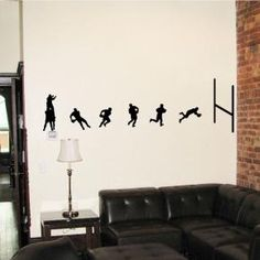 Rugby Union Wall Decal Stickers