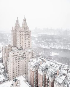 The iconic San Remo building overlooking Central Park