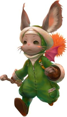 Along with Lulucce and Montblanc, Nono is my one of my favorite moogles in FFXII. Too cute! :3