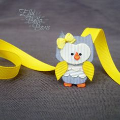 Hey, I found this really awesome Etsy listing at https://www.etsy.com/listing/224688845/woodland-owl-ribbon-sculpture-hair-clip