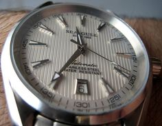 Sea-gull sea master from Singapore - Page 2 Gull, Omega Watch, Clock, Wrist Watches, Candy, Accessories, Classic, Dress, Watch