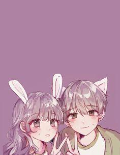 Otaku-Univers is the best place for anime sharing Japanese otaku culture , information, news from all over the world Manga Kawaii, Manga Cute, Anime Couples Drawings, Anime Couples Manga, Cute Anime Coupes, Anime Cupples, Anime Siblings, Anime Friendship, Friend Anime