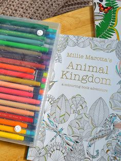 I'm addicted to adult coloring books - empty your mind, take up your marker, and prepare to enter the addictive world of coloring in! #design