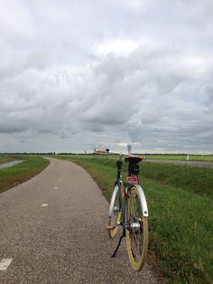 Another picture of my bike in Friesland