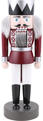 This nutcracker is a new addition of 2015 by KWO. It is made in the traditional, typical Ore mountain style. Christmas In Germany, Christmas Time, Merry Christmas, Christmas Ideas, Nutcracker Ornaments, Nutcracker Christmas, Diy Ornaments, German Nutcrackers, Christmas Soldiers