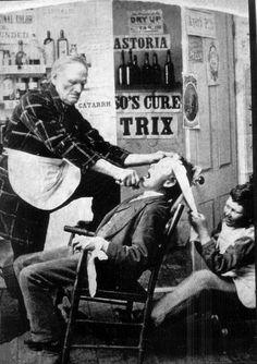 Para los que se quejan de que el dentista hace daño. Suerte no haber nacido antes