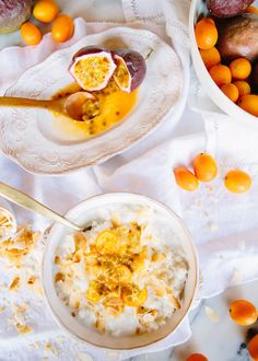 coconut and passionfruit rice porridge – A House in the Hills