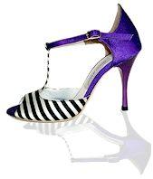 Comme Il Faut - love the purple & stripes!