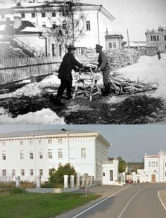 Tobolsk - Then and Now.